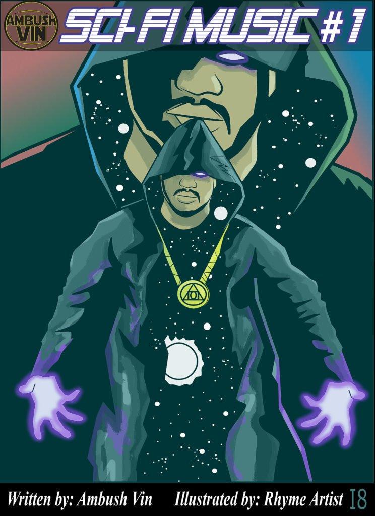 Sci Fi Music Comic