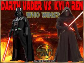Darth Vader vs Kylo Ren