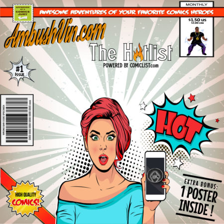 Ambush Vin The Hotlist - New Comic List