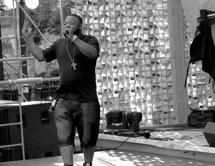 Ambush Vin performing