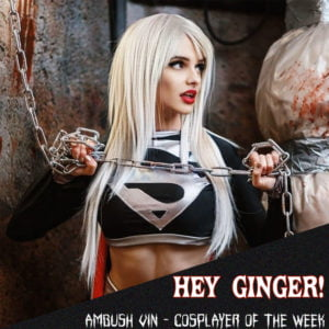 Ambush Vin - Hey Ginger! Cosplays Supergirl