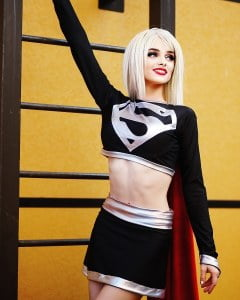 Cosplays Supergirl