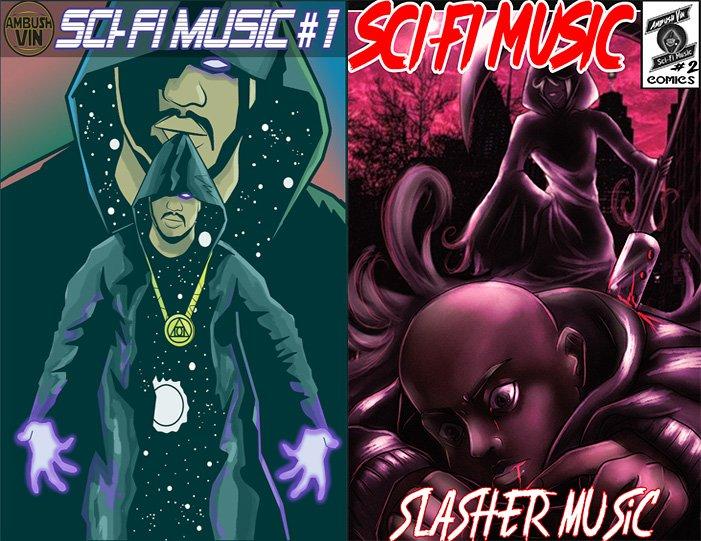 Sci-Fi Music Comics