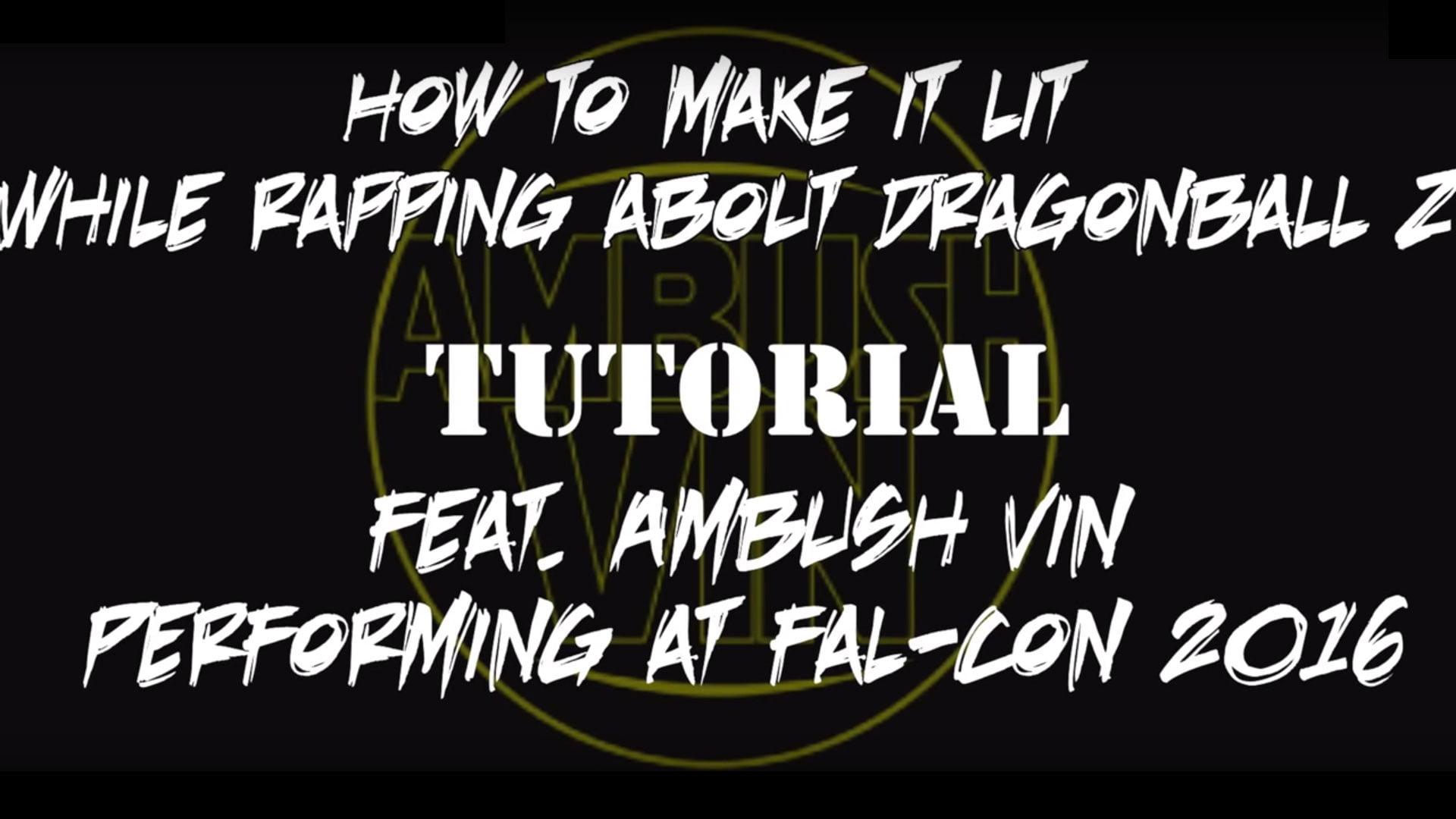 Ambush Vin performing Sci-Fi Music - Fal-Con
