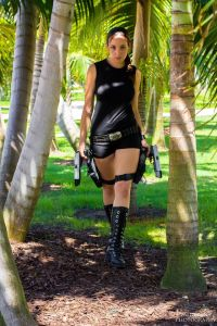 Ambush Vin - SciFinatik Cosplay - Amy Nicole Cosplay - Lara Croft Photo by Alex Valderana Photography