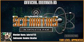 Sci-Fi Music - SciFinatik Fam ID