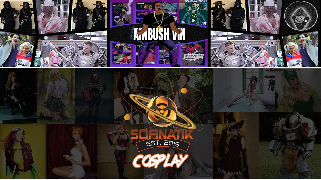 Ambush Vin - Sci-Fi Music - SciFinatik Cosplay