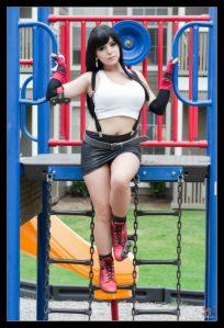 Ambush VIn - SciFinatik Cosplay - Bunny Ayumi - Tifa