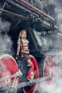 Captain Irachka - Steampunk